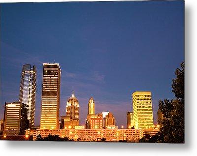 Oklahoma City Skyline - Downtown Okc Metal Print
