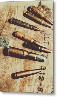 Old Ammunition Metal Print