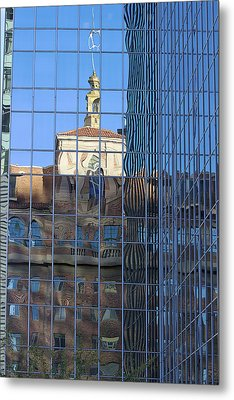 Metal Print featuring the photograph Old And New Patterns by Phyllis Denton