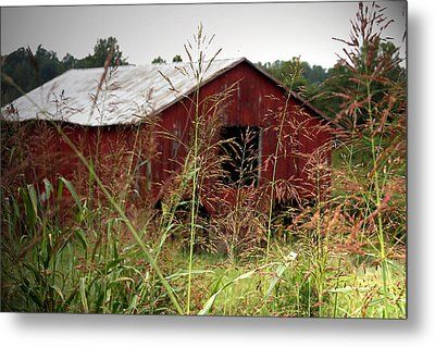 Old Barn Xii Metal Print by Emanuel Tanjala