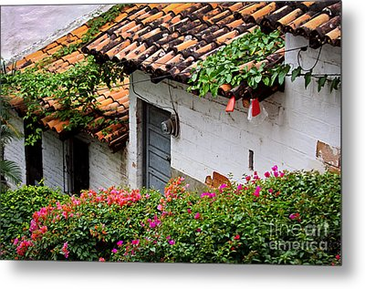 Old Buildings In Puerto Vallarta Mexico Metal Print by Elena Elisseeva