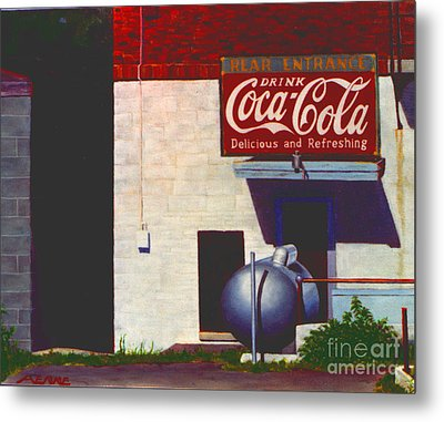 Old Deli Metal Print