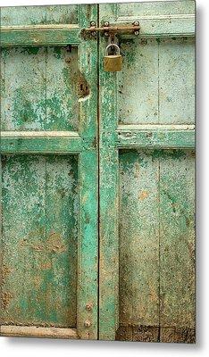 Old Door Metal Print by Adam Romanowicz