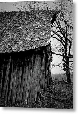 Old Farm 11 Metal Print by Dennis Sullivan