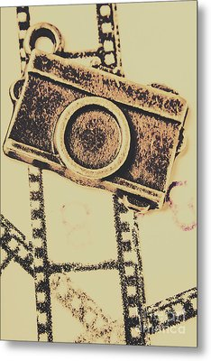Old Film Camera Metal Print by Jorgo Photography - Wall Art Gallery