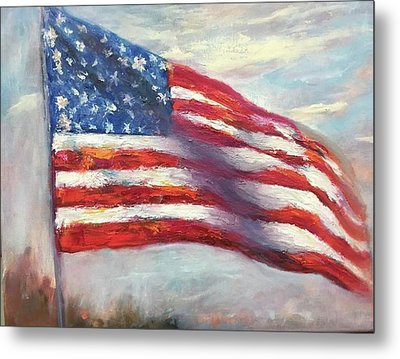Old Glory Vi Metal Print