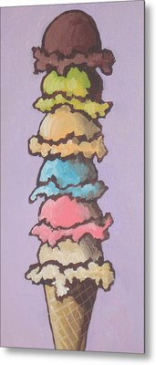 Old Habits Metal Print by Sandy Tracey