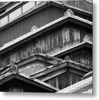 Old House Metal Print by Denis J Canning