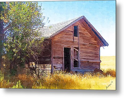 Metal Print featuring the photograph Old House by Susan Kinney