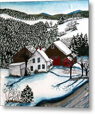 Old Hutchinson Place Metal Print by Linda Marcille