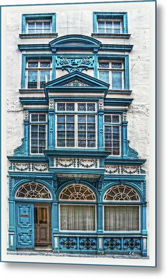 Metal Print featuring the digital art Old Irish Architecture by Hanny Heim