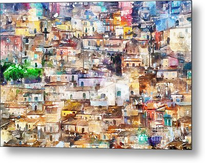 Old Italy Metal Print by Shirley Stalter