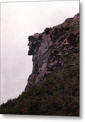 Old Man Of The Mountain Metal Print by Wayne Toutaint