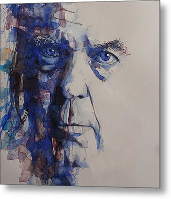 Old Man - Neil Young  Metal Print by Paul Lovering
