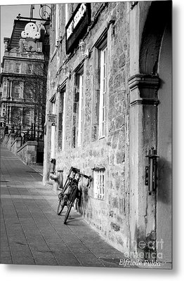 Old Montreal Metal Print by Elfriede Fulda