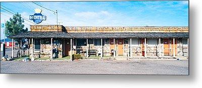 Old Motel In Tonopah, Nevada Metal Print by Panoramic Images