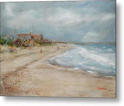Old Orchard Beach Metal Print by Joyce A Guariglia