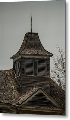 Old School Bell Tower Metal Print by Paul Freidlund