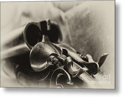 Old Shotgun Metal Print