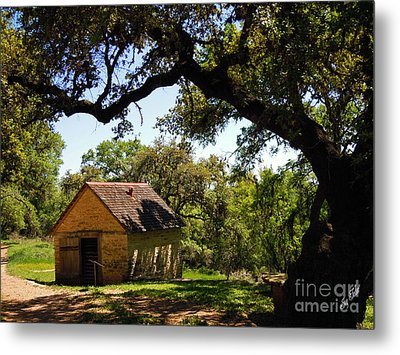 Old Smokehouse Metal Print