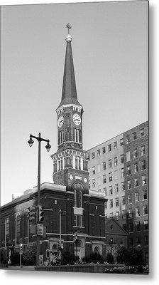 Old St. Mary's Church Metal Print by Steven Ainsworth