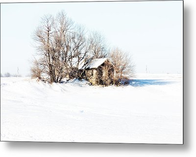 Old  Stone House Milford Metal Print by Julie Hamilton