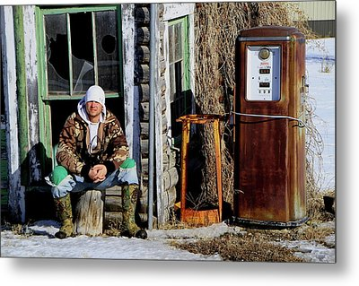 Metal Print featuring the photograph Old Stuff by Edward R Wisell