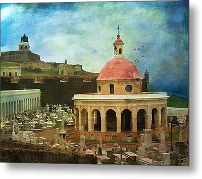 Metal Print featuring the photograph Old World by John Rivera