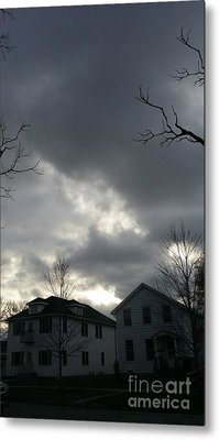Ominous Clouds Metal Print by Diamante Lavendar