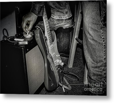 On In Two Minutes Metal Print by Robert Frederick