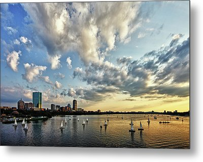 On The Charles II Metal Print by Rick Berk