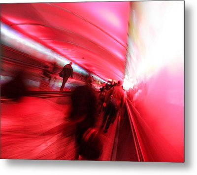 On The Move Metal Print by Elizabeth Hoskinson