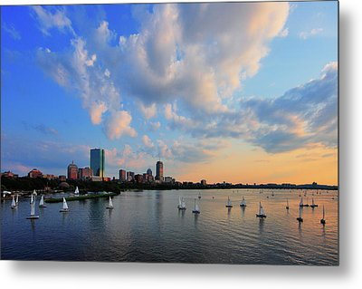 On The River Metal Print by Rick Berk