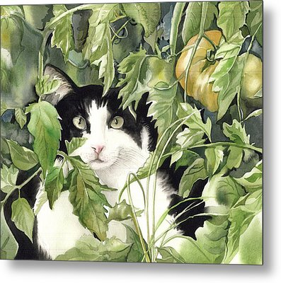On The Watch Metal Print by Alfred Ng