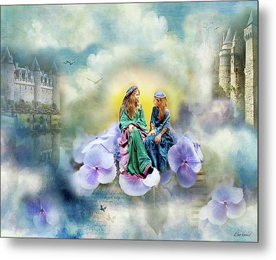 Once Upon A Flower Metal Print