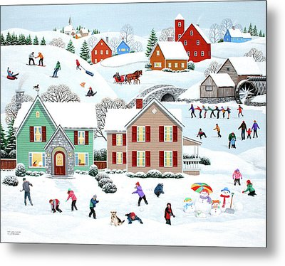 Once Upon A Winter Metal Print