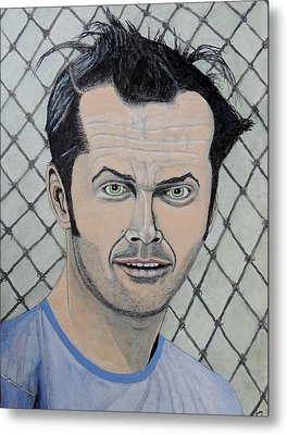 One Flew Over The Cuckoo's Nest. Metal Print by Ken Zabel