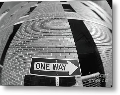 One Way Or Another Metal Print