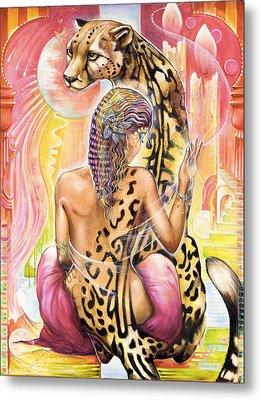 Oneness Metal Print by Blaze Warrender