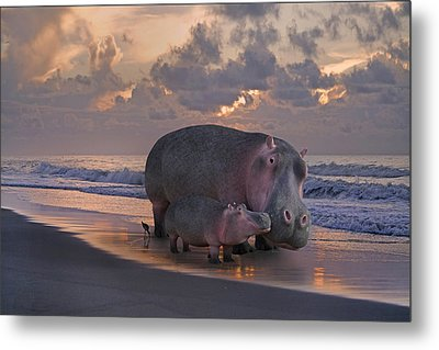 Only On Topsail The Best Kept Secret Metal Print