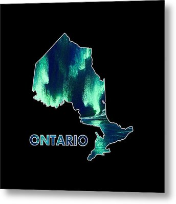 Ontario - Northern Lights - Aurora Hunters Metal Print by Anastasiya Malakhova