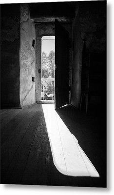 Open Door Metal Print by Gabriela Insuratelu