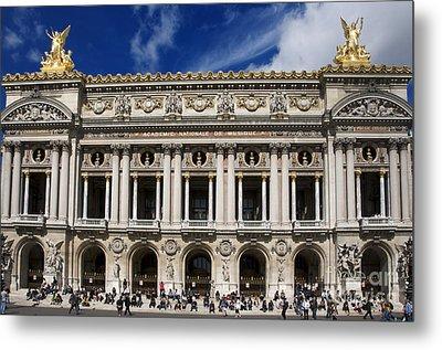 Opera Garnier. Paris. France Metal Print by Bernard Jaubert