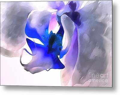 Orchid Dream Metal Print by Krissy Katsimbras