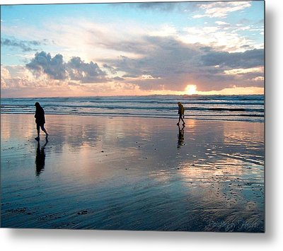 Oregon Coast 7 Metal Print