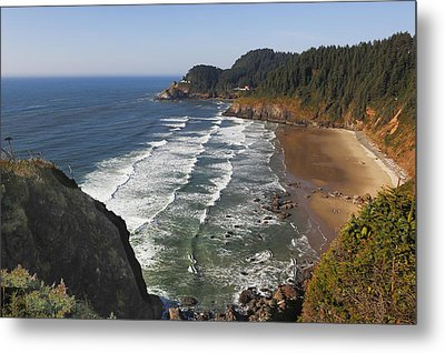 Oregon Coast No 1 Metal Print