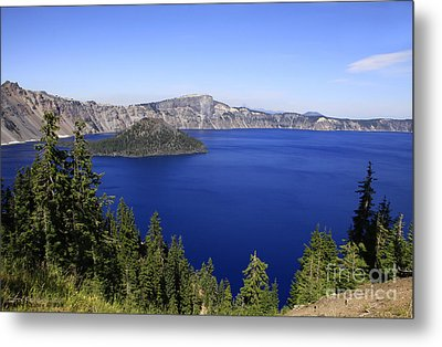 Oregons Crater Lake Metal Print