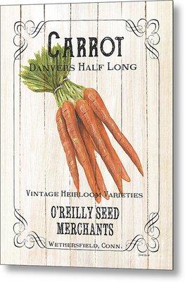 Organic Seed Packet 2 Metal Print by Debbie DeWitt
