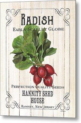 Organic Seed Packet 3 Metal Print by Debbie DeWitt