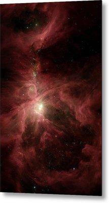 Orions Inner Beauty Metal Print by Stocktrek Images